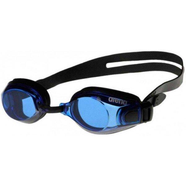 Černo-modré závodní plavecké brýle Arena