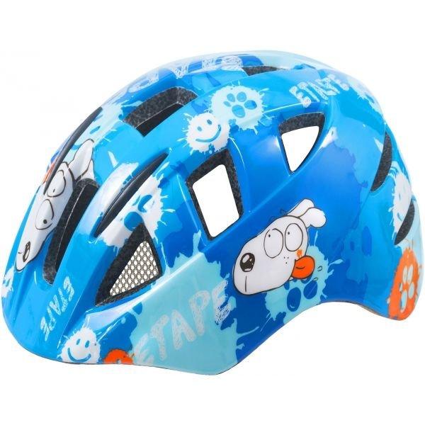 Modrá dětská cyklistická helma Etape