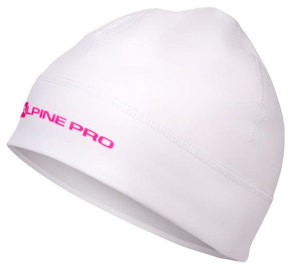 Bílá dámská zimní čepice Alpine Pro - velikost S