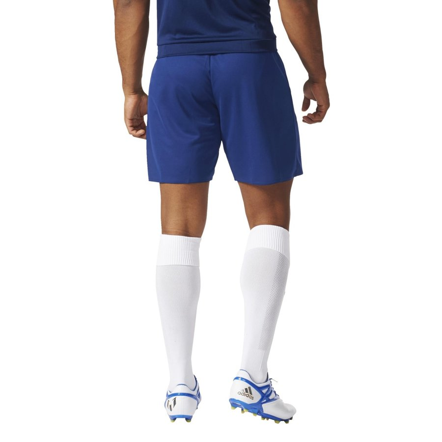Modré dětské fotbalové kraťasy Parma 16, Adidas - velikost 116
