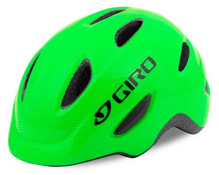 Zelená dětská cyklistická helma Giro
