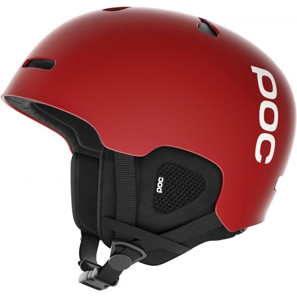 Červená lyžařská helma POC - velikost 59-62 cm