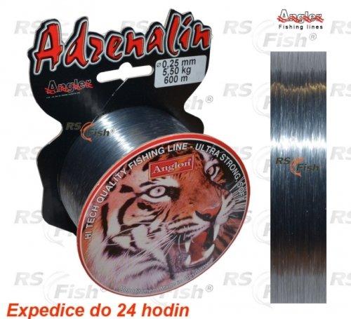 Rybářský vlasec - Angler Ltd. Vlasec Angler Adrenalin 0,350 mm