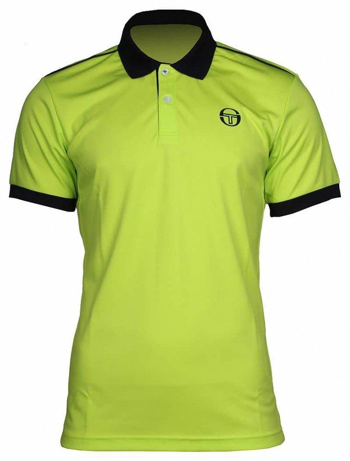Modré pánské tenisové tričko Sergio Tacchini - velikost M