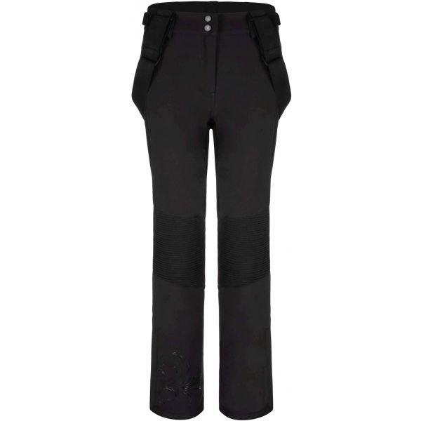 Černé softshellové dámské kalhoty Loap - velikost L