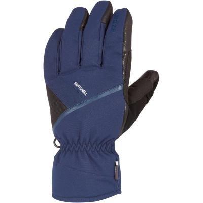Modré lyžařské rukavice WED'ZE