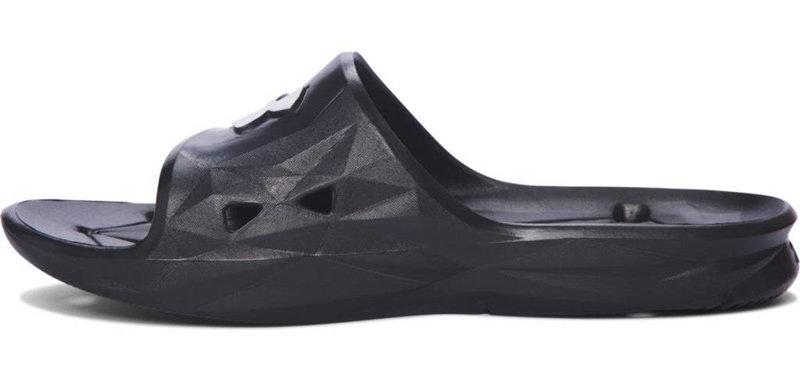 Černé pánské pantofle Under Armour - velikost 46 EU