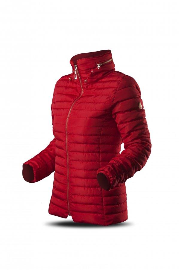 Červená zimní dámská bunda Trimm