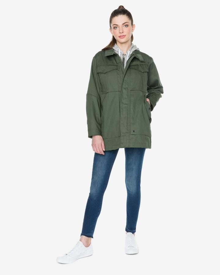 Zelená dámská bunda G-Star RAW