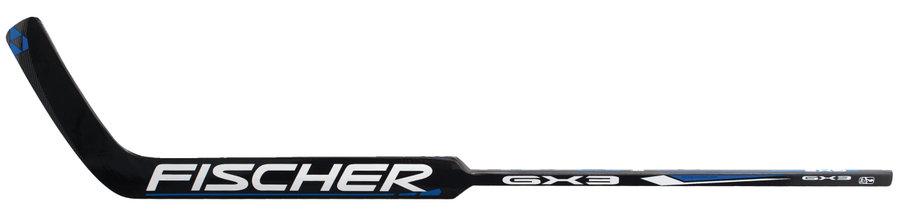 Levá brankářská hokejka - senior GX3 FOAM, Fischer - délka 69 cm