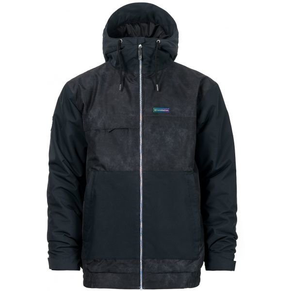 Černá pánská lyžařská bunda Horsefeathers
