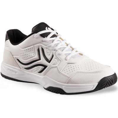 Bílé pánské tenisové boty - obuv TS 190, Artengo - velikost 49 EU