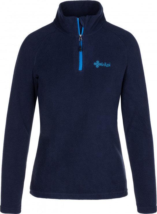 Modrá dámská lyžařská mikina bez kapuce Kilpi
