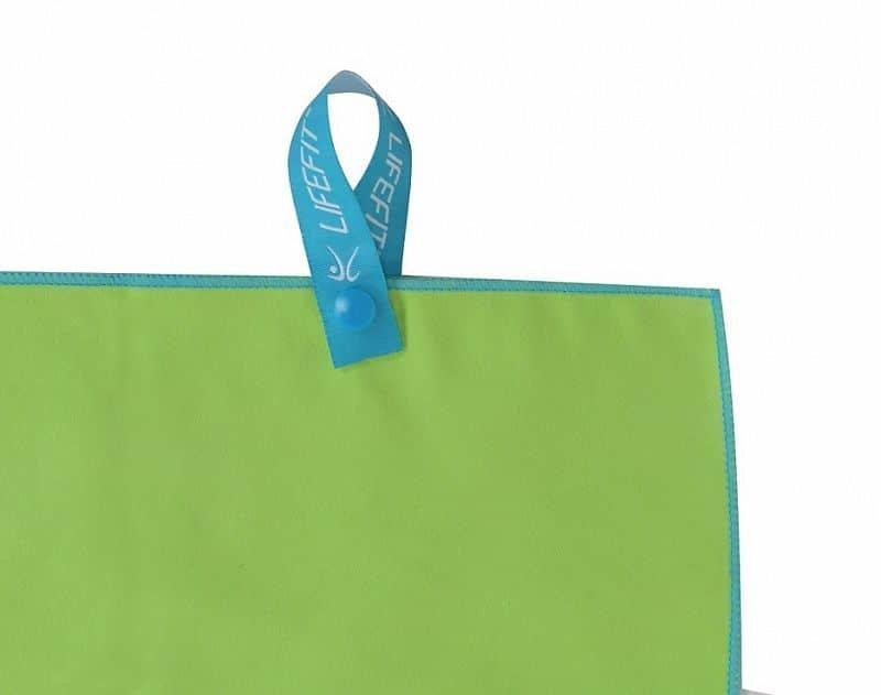 Ručník - LIFEFIT rychleschnoucí ručník z mikrovlákna 70x140cm, zelený