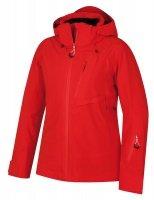 Červená dámská lyžařská bunda Mayni L, Husky - velikost M