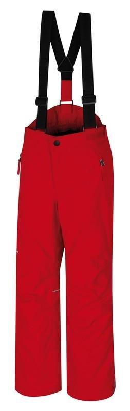 Červené dětské lyžařské kalhoty Hannah - velikost 152