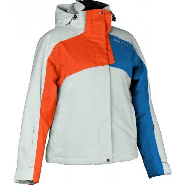 Bílá dětská lyžařská bunda Diel - velikost M