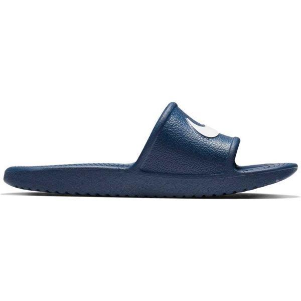 Modré dětské pantofle Nike - velikost 36 EU