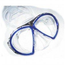Potápěčská maska - Maska potápěčská (brýle) Favola transparent Technisub, námořnicky modrá