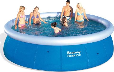 Bazénový set - Bestway Bazén Fast Set 4,57 x 1,07 m - 57023