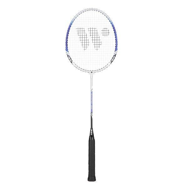 Modro-stříbrná raketa na badminton Wish - délka 66,5 cm