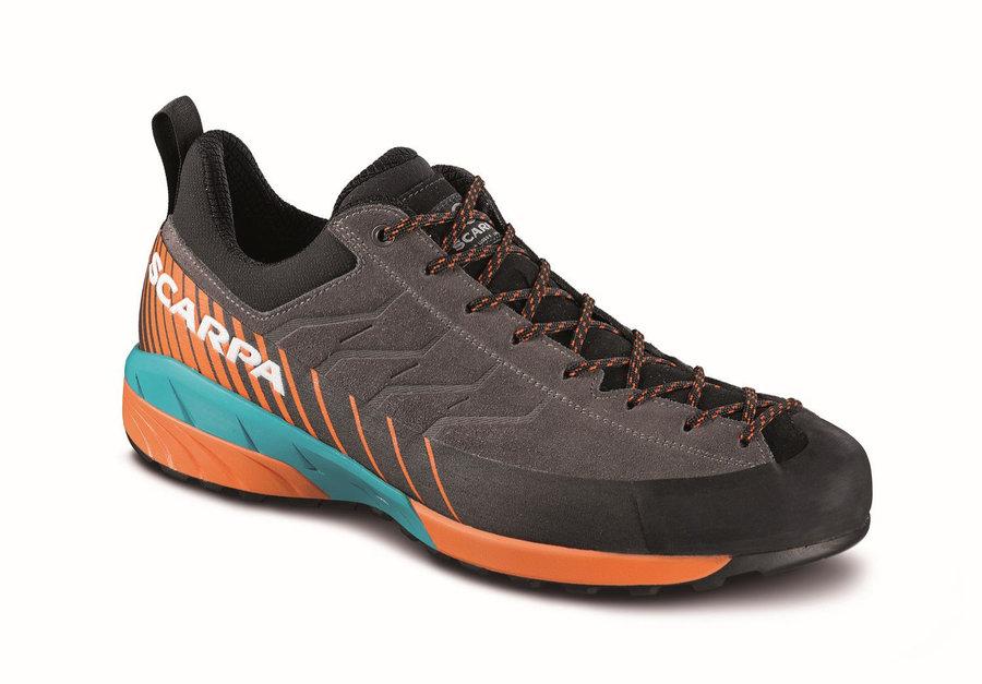 Hnědo-oranžové pánské trekové boty Scarpa