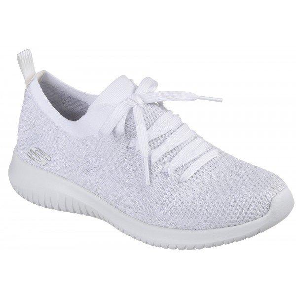 Bílé dámské tenisky Skechers
