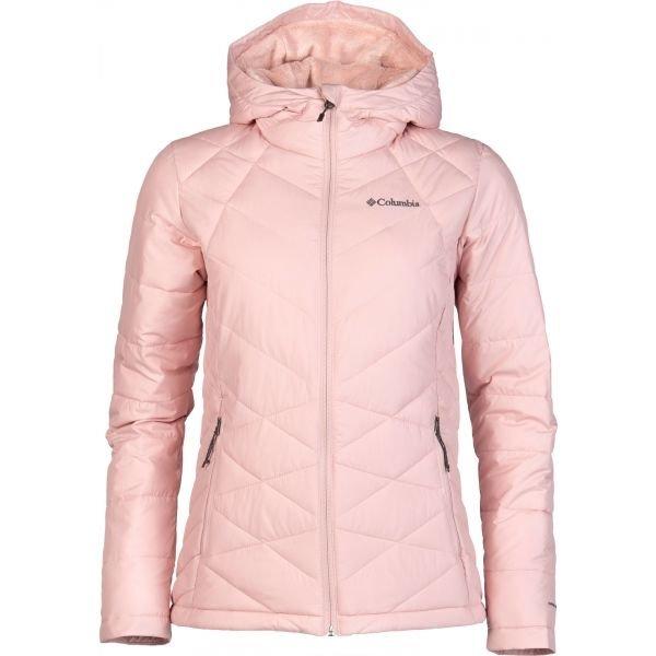 Růžová zimní dámská bunda Columbia - velikost S