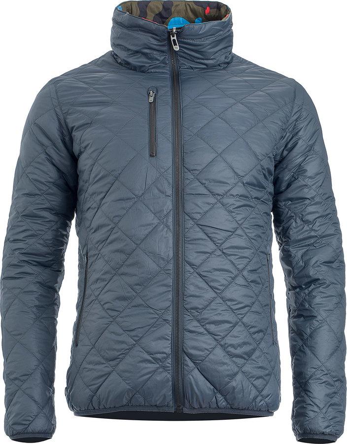 Modrá zimní pánská bunda Woox
