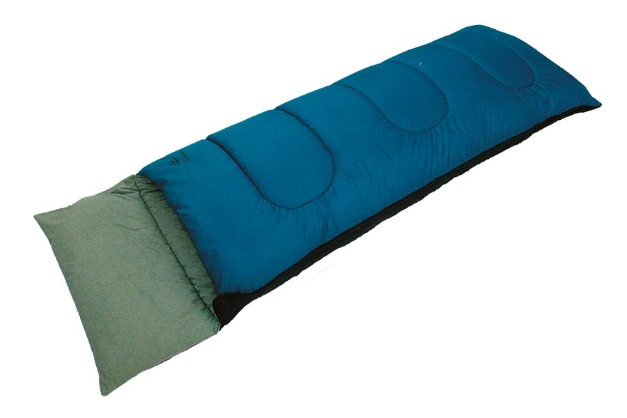 Modro-zelený spací pytel Pilot, SPARTAN SPORT - délka 180 cm