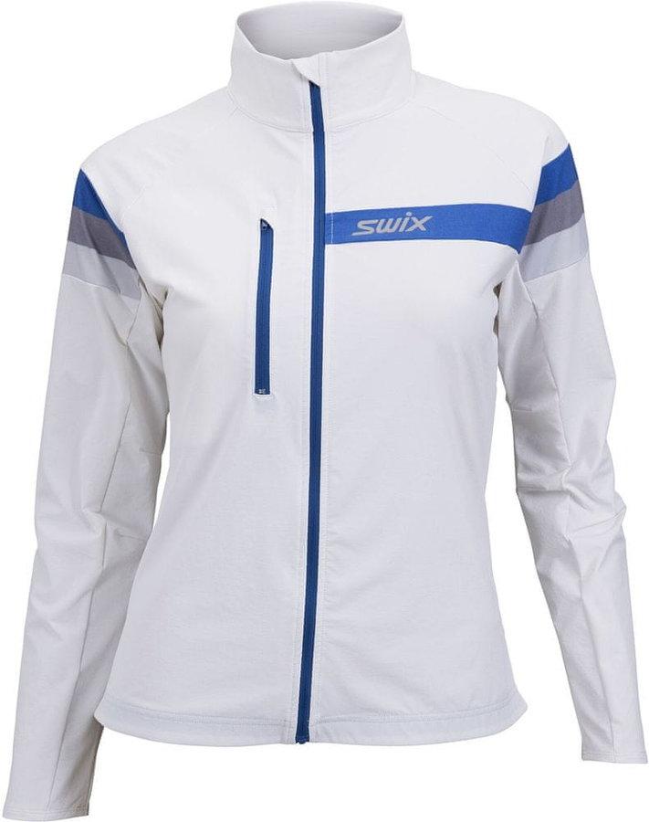 Bílá dámská bunda na běžky Swix