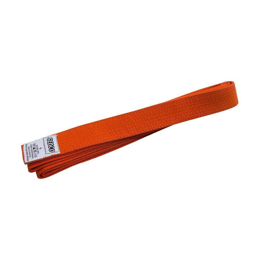Oranžový judo pásek Sedco - délka 220 cm