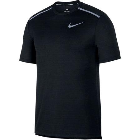 Černé pánské tričko s krátkým rukávem Nike - velikost S