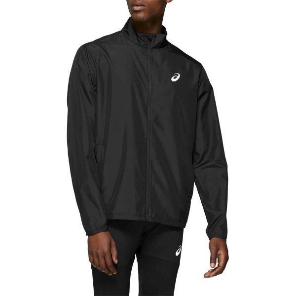 Černá pánská běžecká bunda Asics