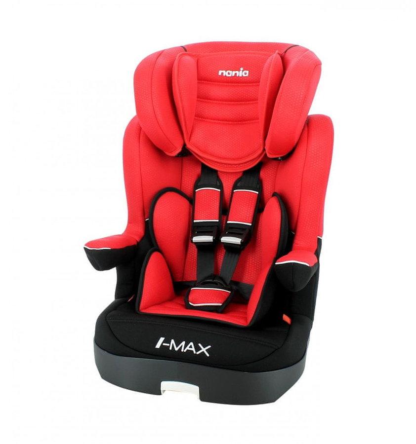 Červená dětská autosedačka I-Max, Nania - nosnost 36 kg