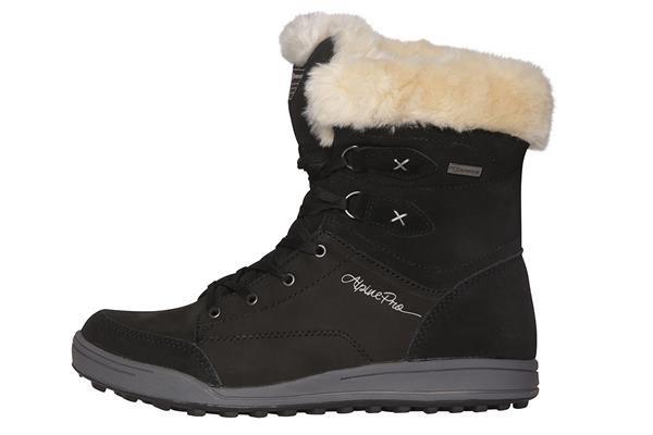 Černé dámské zimní boty Alpine Pro - velikost 36 EU