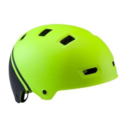 Žlutá dětská cyklistická helma B'TWIN - velikost S