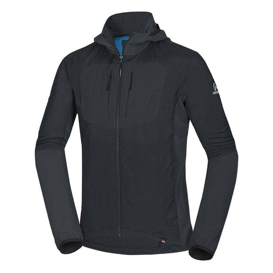 Černá pánská bunda na běžky NorthFinder - velikost M