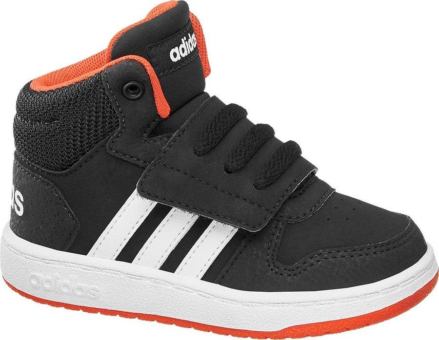 Černé dětské tenisky Adidas - velikost 22 EU