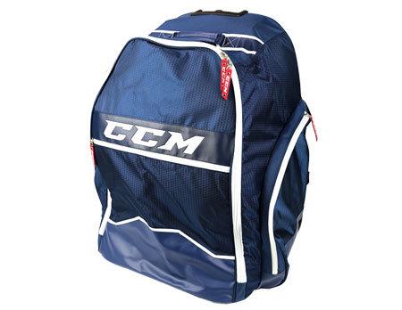 Bílo-modrá taška na hokejovou výstroj CCM
