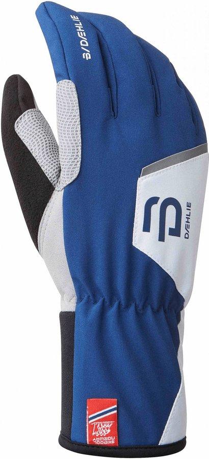 Bílo-modré rukavice na běžky Bjorn Daehlie