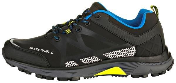 Černé trekové boty Alpine Pro