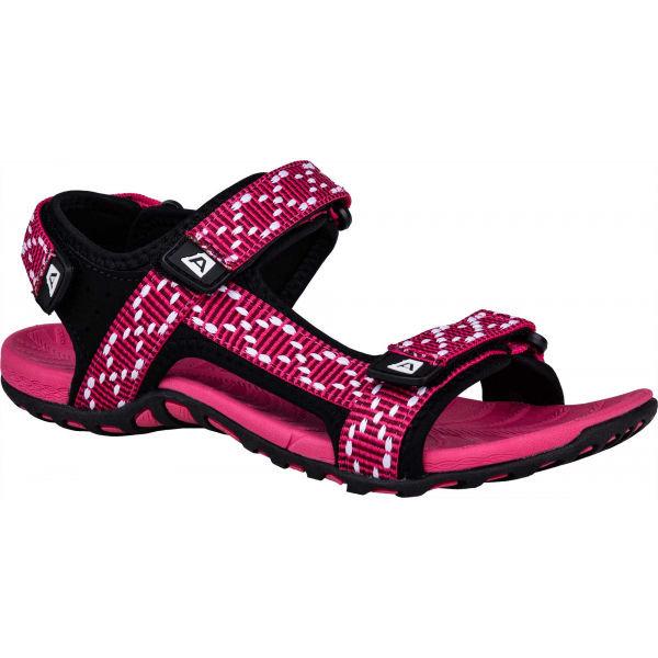 Růžové dámské sandály Alpine Pro