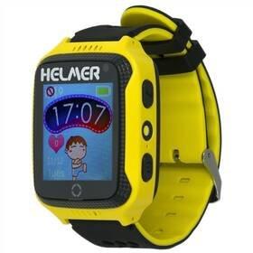 Černo-žluté dětské chytré hodinky LK 707, Helmer
