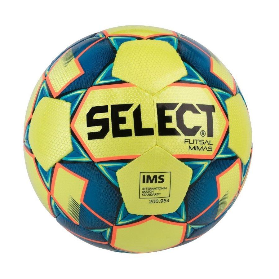 Modro-žlutý futsalový míč FB Futsal Mimas, Select - velikost 4