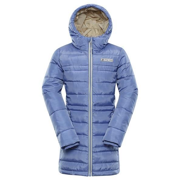 Modrý dětský kabát Alpine Pro - velikost 92-98