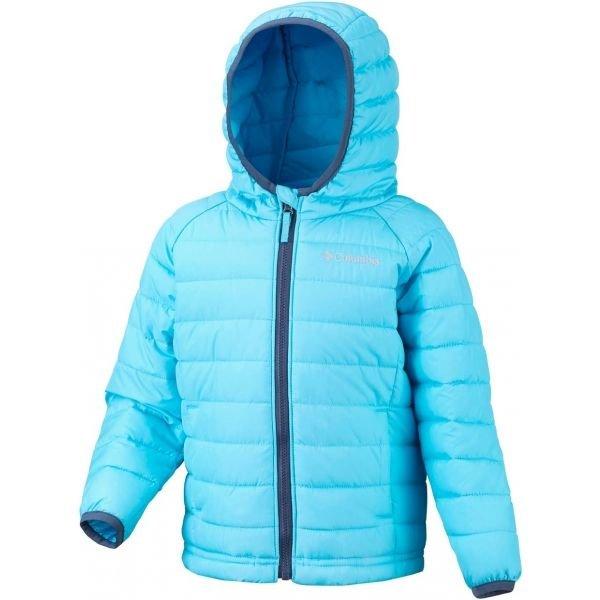 Modrá dívčí bunda Columbia