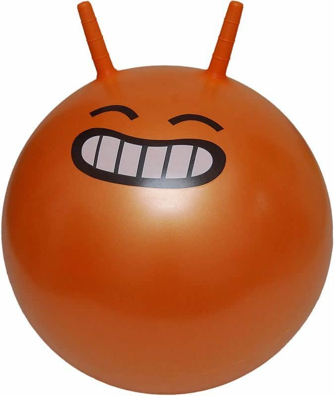 Oranžový skákací míč Lifefit - průměr 45 cm