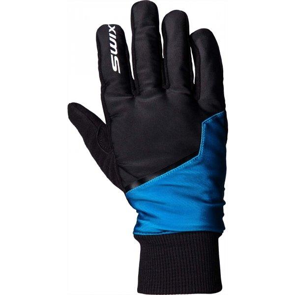 Černé pánské rukavice na běžky Swix - velikost 11