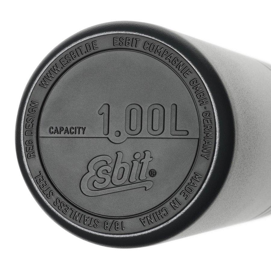Černá termoska Majoris, Esbit - objem 1 l
